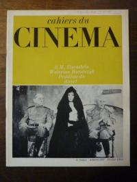 Doniol-Valcroze, Cahiers du Cinema No. 209: S.M. Eisenstein, Walerian Borowczyk,