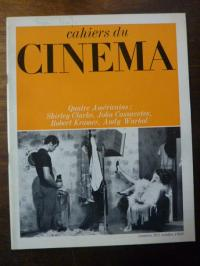 Doniol-Valcroze, Cahiers du Cinema No. 205: Quatre Americains: Shirley Clarke, J