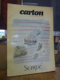 Carton – Les Cahiers Du Dessin D'Humor N°1, 2e Trimestre 1974 – Dossier Sempe,