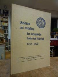 Kaufmann, Geschichte und Verfassung der Reichsdörfer Soden und Sulzbach,