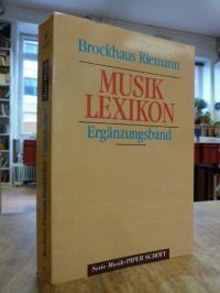 Brockhaus Riemann Musiklexikon – Ergänzungsband A – Z,