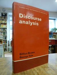 Brown, Discourse analysis,