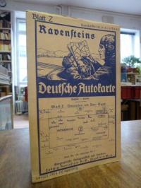 Ravenstein, Ravensteins deutsche Autokarte, Blatt Z: Gmunden am See – Raab,