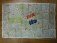 London, Geographers' Six Inch Map of Central London [with Postal Districts and C