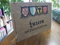 Luzern, Luzern und Vierwaldstättersee, Album mit 20 Farbabbildungen,