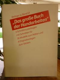 Stegemann, Beilage zu Band VI – Das große Buch der Handarbeiten  (3 Schnittmuste