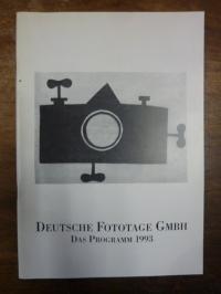 Deutsche Fototage GmbH (Frankfurt, Deutsche Fototage GmbH: Das Programm 1993
