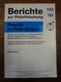 Graeve, Berichte zur Polarforschung = Reports on Polar Rese
