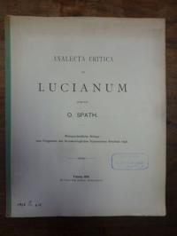 Spath, Analecta Critica ad Lucianum,