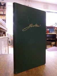Goethe, Mit Goethe durch das Jahr – Ein Kalender für das Jahr 1959,