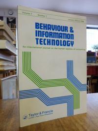 Behaviour & Information Technology – An International Journal on the Human Aspec