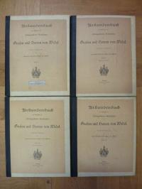 Wedel, Urkundenbuch zur Geschichte des schloßgesessenen Geschlechtes der Grafen