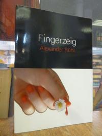 Rühl, Fingerzeig – ein Flörsheim-Krimi (signiert),