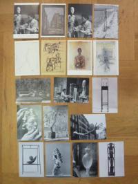Giacometti, 12 Art Postcards / 12 Kunstkarten,