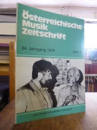 Österreichische Musik Zeitschrift ÖMZ, 34. Jahrgang 1979, Heft 9: Neue Musik ges