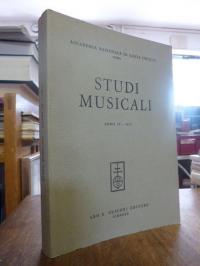 Ziino, Studi Musicali, Anno IV 1975,