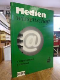 Medienwissenschaft – Rezensionen, Reviews, Heft 1 / 1997