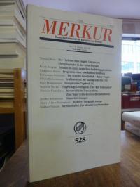 Bohrer, Merkur – Deutsche Zeitschrift für Europäisches Denken, Heft 3, 47. Jahrg