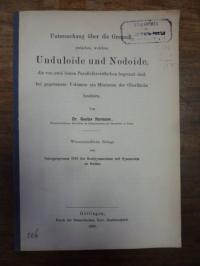 Hormann, Untersuchung über die Grenzen zwischen welchen Unduloide und Nodoide, d
