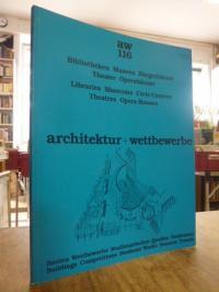 Krämer, architektur + wettbewerbe – aw 116: Bibliotheken, Museen, Bürgerhäuser,