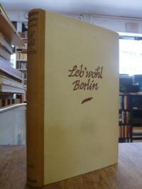Isherwood, Leb' wohl, Berlin – Ein Roman in Episoden,