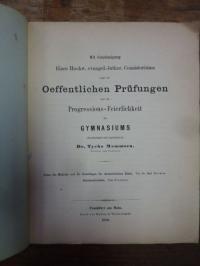 Eucken, Teil 1: Ueber die Methode und die Grundlagen der Aristolischen Ethik, Te