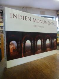 Pasricha, Indien Monumental, (mit einem beiliegenden signierten Farb-Druck),