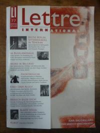 Berberich, Lettre international – Europas Kulturzeitung, Heft 77, Sommer 2007 (C