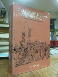 Calicó, Los denarios romanos anteriores a J.C. y su nuevo método de clasificació