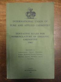 International Union of Pure and Applied Chemistry, Nomenclature of Organic Chemi