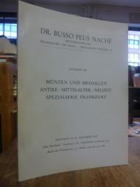 Münzhandlung Dr. Busso Peus Nachf., Katalog 267: Münzen und Medaillen, Antike, M