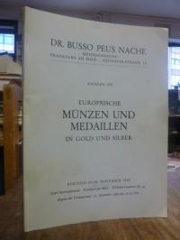 Münzhandlung Dr. Busso Peus Nachf., Katalog 272: Europäische Münzen und Medaille