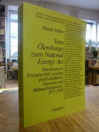 Müller, Vom Ölembargo zum National Energy Act – Amerikanische Energiepolitik zwi