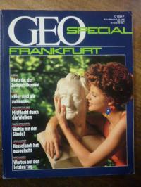 Frankfurt, Geo Spezial: Frankfurt, Heft 5 vom 5.10.1988,