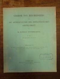 Sturmhoefel, Gerhoh von Reichersberg über die Sittenzustände der zeitgenössische
