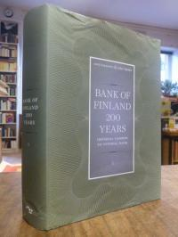 Kuusterä, Bank of Finland 200 years – Volume I (1): Imperial Cashier to Central