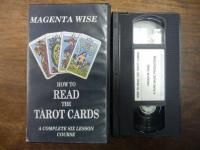Wise, How to Read the Tarot Cards – A Complete Six Lesson Course, VHS-Video,