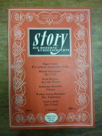 Post, Story – Die Monatsschrift der Modernen Kurzgeschichte, 5. Jahrgang, 1950,