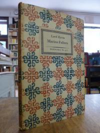 Pandora 15 / Byron, Marino Faliero Doge of Venice – An Historical Tragedy in fiv
