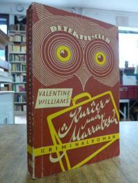 Williams, Kurier nach Marrakesch – Kriminalroman,