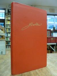 Goethe, Mit Goethe durch das Jahr – Ein Kalender für das Jahr 1973,