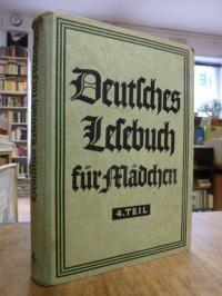 Lauenstein, Deutsches Lesebuch für Mädchen, Vierter (4.) Teil,