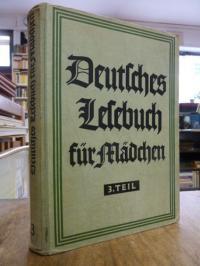 Lauenstein, Deutsches Lesebuch für Mädchen, Dritter (3.) Teil,