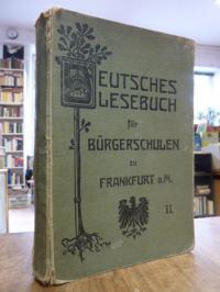 Deutsches Lesebuch für Bürgerschulen, II. (2.) Teil: 4. und 5. Schuljahr, (auf V