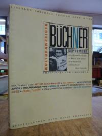 Büchner – Literatur, Kunst, Kultur. Mit dem Kulturprogramm für Rhein-Main, Septe