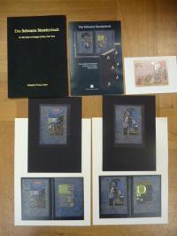Faksimile, Informations- bzw. Werbemappe zum Faksimile 'Das Schwarze Stundebuch