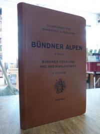 Europa / Schweiz / Schwrier Alpenclub (Hrsg.), Clubführer durch die Bündner-Alpe