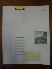 Architektur-Zeitschrift, Bauwelt [Zeitschrift], Heft 33, 96. Jahrgang, 2005: Gra