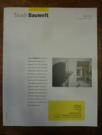 Architektur-Zeitschrift, Bauwelt [Zeitschrift], Heft 48, 96. Jahrgang, 2005: Mel