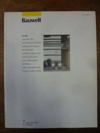 Architektur-Zeitschrift, Bauwelt [Zeitschrift], Heft 35, 83. Jahrgang, 1992: Mex